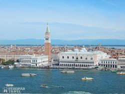 Velence – a Szent Márk tér madártávlatból
