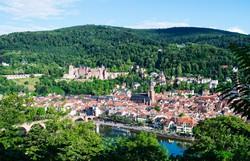 Heidelberg madártávlatból