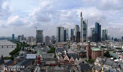 Frankfurt: a régi és a modern városrészek találkozása