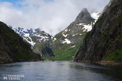 hajózás a Troll-fjordon
