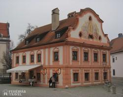 az egykori ferences ház Altöttingben
