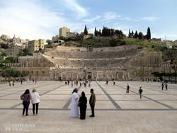 a római kori színház Ammanban