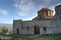Misztra egyik épségben megmaradt bizánci temploma