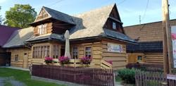 jellegzetes górál faház Chochołówban