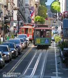 San Francisco – utazás a kábelvasúttal