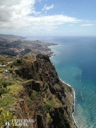 a Cabo Girão - 580 méterrel az óceán felett