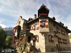 Innichen egyik jellegzetes épülete