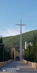 bejárat Pio atya szentélyéhez San Giovanni Rotondóban