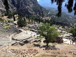Delphoi romvárosa – részlet