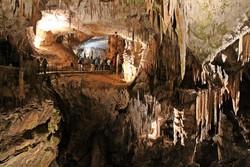 a világhírű Postojnai cseppkőbarlang - részlet