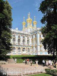 Puskin: a Katalin-kastély – részlet