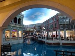 """Makaó legnagyobb kaszinókomplexuma, a """"The Venetian Macao"""" – részlet"""