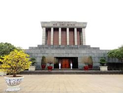 a Ho Chi Minh Mauzóleum Hanoiban