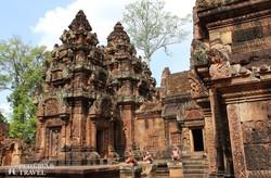 """Banteay Srei, """"a Szépség Citadellája"""" Angkorban"""