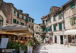 Split középkori óvárosának egy hangulatos részlete
