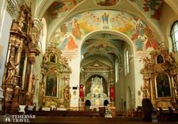 a máriagyűdi Mária-kegyhely belsője