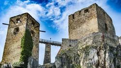 a cseszneki vár tornyai