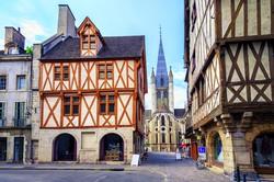 középkori hangulat Burgundia fővárosában, Dijonban
