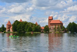 Trakai romantikus várkastélya