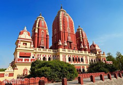 a Lakshmi Narayan-templom Delhiben