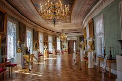 I. Pál cár klasszicista kastélya Pavlovszkban – részlet