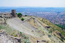 Pergamon ősi városának színháza