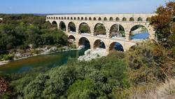 a Pont du Gard, az ókori technika csodája