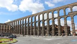 Segovia híres római vízvezetéke