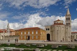 Zadar: a Szent Donát-templom ősi épülete