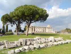 Paestum egyik ókori temploma