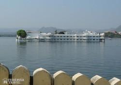 a Tavi palota Udaipurban