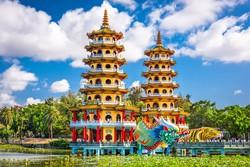 Kaohsiung - a Sárkány és a Tigris pagodák