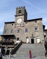 a városháza Cortonában