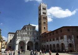 a San Martino katedrális Luccában