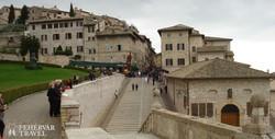 Assisi óvárosi részlet