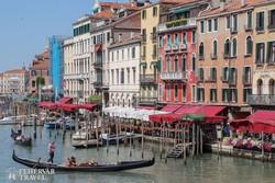 a velencei Canal Grande fantasztikus hangulata