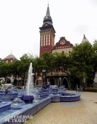 Szabadka szecessziós városházája
