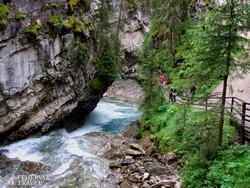 séta a Johnston-kanyonban