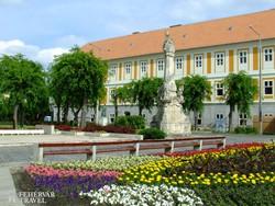 kellemes park Kalocsa belvárosában