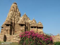újra felfedezett templom Khajurahóban