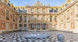 a Versailles-i kastély egy részlete