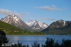 útban Tromsø  felé
