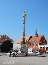 Zágráb belvárosa – részlet