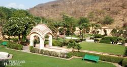 a Sisodia-kert pihenő pavilonja