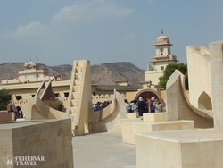 Jantar Mantar – az ősi jaipuri csillagvizsgáló