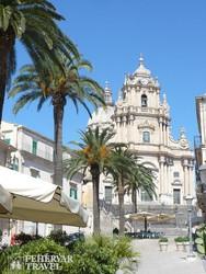 a San Giorgio-katedrális Ragusában