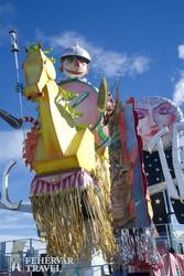 karneváli hangulat Viareggióban