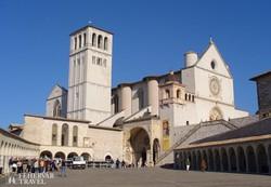 a Szent Ferenc-bazilika Assisiben