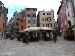 Rovinj középkori sikátoros óvárosa – részlet