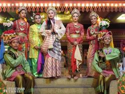maláj táncosok Penang szigetén